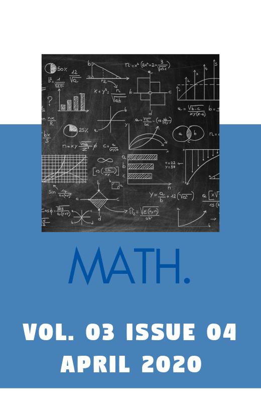 Gph-International Journal of Mathematics Vol. 03 Issue 04 2020