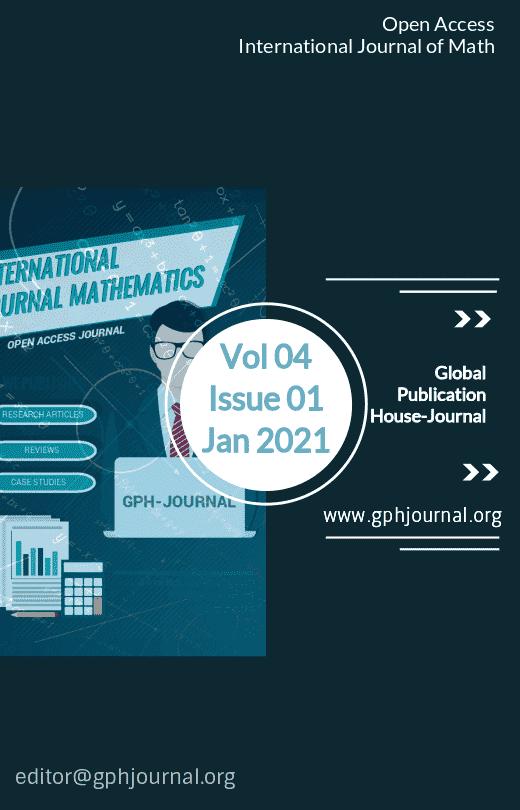 GPH-Int. Journal of Math Vol 04 Issue 01 Jan 2021